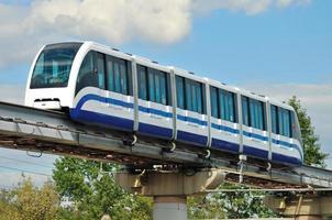 Einschienenbahn-Transportsystem foto