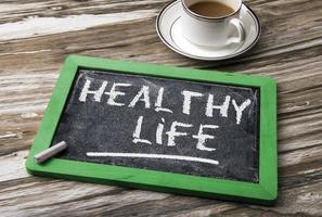 gesundes Lebenskonzept