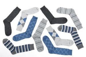 lässige Socken für Männer foto