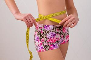 weiblicher Bauch foto