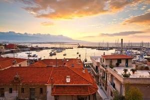 Mikrolimano Marina in Athen. foto