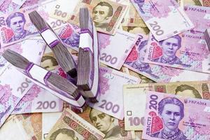 Geldinflationskonzept foto