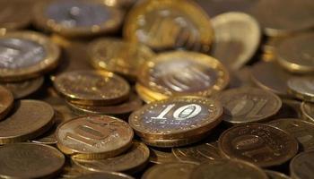 russische Münzen foto