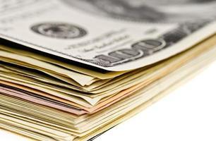 Dollar stapeln foto