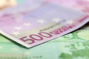 Geld, 500 Euro Banknote foto