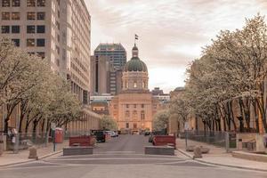 das Indiana Statehouse foto