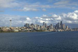 Innenstadt Seattle. foto
