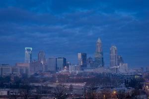 Charlotte, North Carolina Sonnenaufgang foto