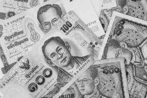 Thailand Geld Banknote für den Hintergrund