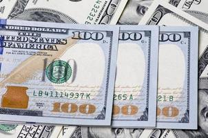 eine Million Dollar in den Vereinigten Staaten von Amerika foto