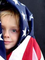 amerikanisches Mädchen foto