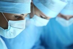 Chirurgie und Notfallkonzept foto