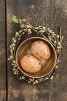 goldene Eier foto
