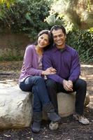 ethnisches Paar