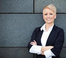 attraktive Geschäftsfrau foto