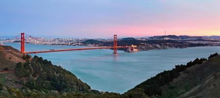 Bucht von San Francisco. foto