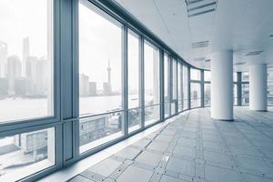 leerer Büroraum in modernen Bürogebäuden