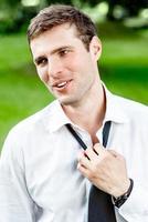 Porträt eines Geschäftsmannes foto
