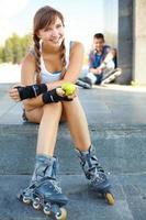sportliches Mädchen foto