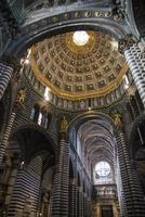 catedral de siena. la toscana. Italien. Europa. foto