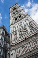Turm der Kathedrale in Florenz. Italien. Europa. foto