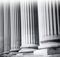Säulennahaufnahme foto