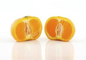 Zitrusfrüchte hautnah foto