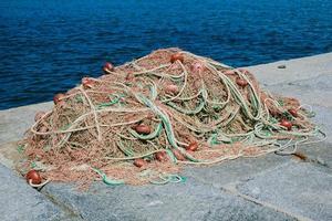 Fischernetz hautnah foto