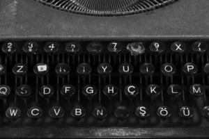 Schreibmaschine Nahaufnahme