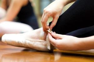 Ballerinas hautnah