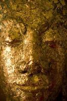 Buddha-Statue aus der Nähe foto