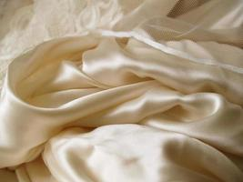 Hochzeitskleid Nahaufnahme foto