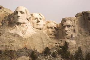 Mount Rushmore Nahaufnahme foto