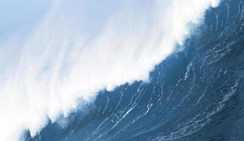 krachende Welle aus der Nähe foto