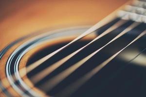 Gitarre aus nächster Nähe