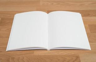 leerer Katalog, Broschüre, Zeitschriften, Buchmodell foto