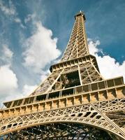 Eiffelturm in Paris Frankreich foto
