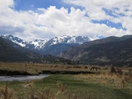 szenische Colorado Rockies foto