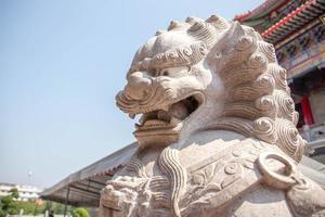 Löwenstatue foto