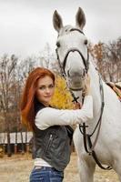 Liebe zu Pferden foto