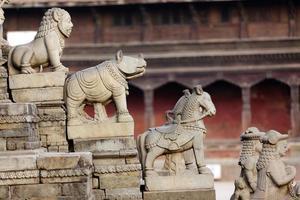 hinduistischer Tempeleingang foto