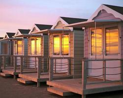 Strandhütten foto