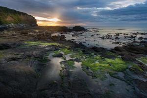 Landschaft von Neuseeland foto