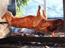 gegrilltes Schwein foto