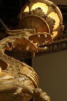 goldener Drache foto