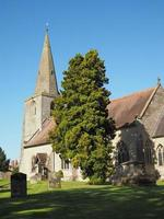 St. Mary Magdalene Kirche in Tanworth in Arden foto