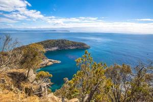 Bruny Island übersehen foto