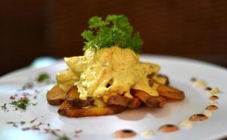 Hühnchen-Curry foto