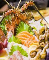 Meeresfrüchte, japanisches Essen foto