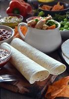 typische Gerichte aus Mexiko foto